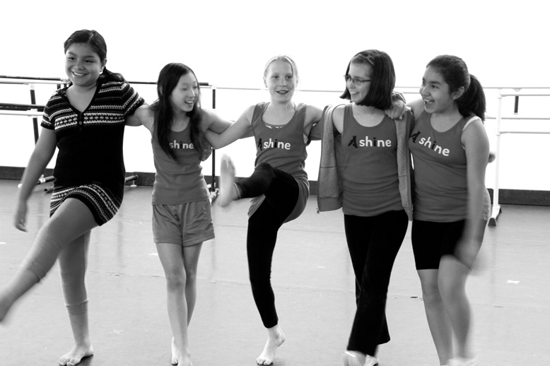 A grant to SHINE For Girls will support curriculum-based programming for disadvantaged middle school girls that combines formal dance training with rigorous math instruction to improve girls' math scores and spark their interest in STEM.